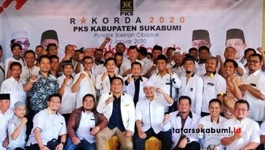 Rakorda PKS Jelang Penetapan Nama Calon Bupati Wakil Bupati Sukabumi di Pilkada 2020