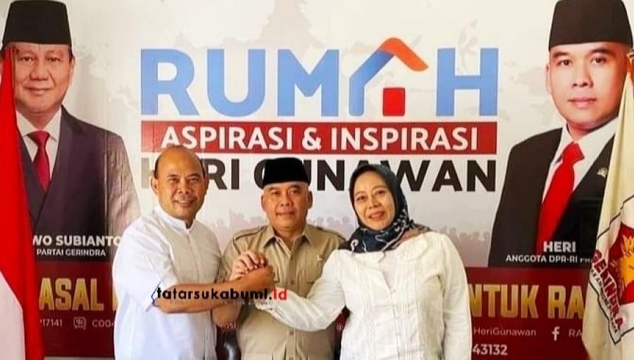 Agus Mulyadi Bertemu Heri Gunawan, Sosok Inikah Bakal Calon Usungan Gerindra di Pilkada Sukabumi 2020