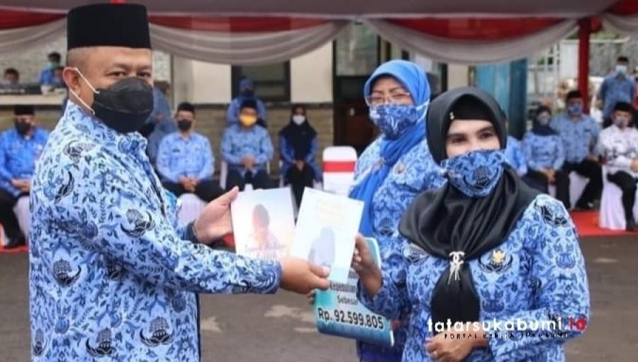 HUT 49 KORPRI, HUT 75 PGRI, dan Hari Guru Nasional Tingkat Kabupaten Sukabumi