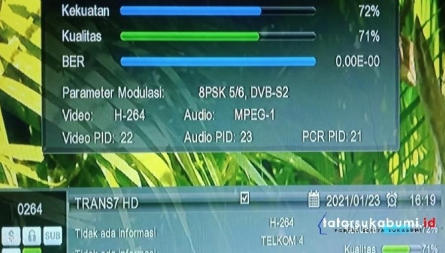 Siaran Trans7 Hilang di Satelit Telkom 4 Ternyata Pindah Frekuensi