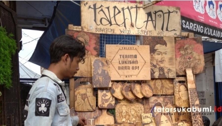 Seniman Lukisan Bara Api Asal Sukabumi Nasibnya Kini, Kang Sidiq : Saya Sudah Bosan Janji-janji