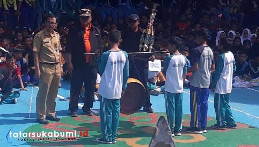 O2SN Tingkat SMP Komisariat Sub Rayon 3 Kabupaten Sukabumi