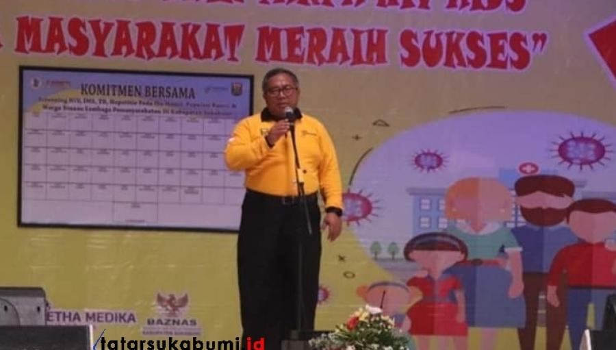 Penderita HIV AIDS di Sukabumi Meningkat Hingga 887 Didominasi Hubungan Sejenis Laki-laki