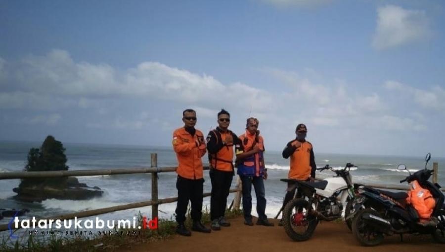 Hari ke-7 Pencarian Nelayan Pangandaran di Laut Sukabumi di Tutup, SARDa : 1 Meninggal 2 Tidak Ditemukan
