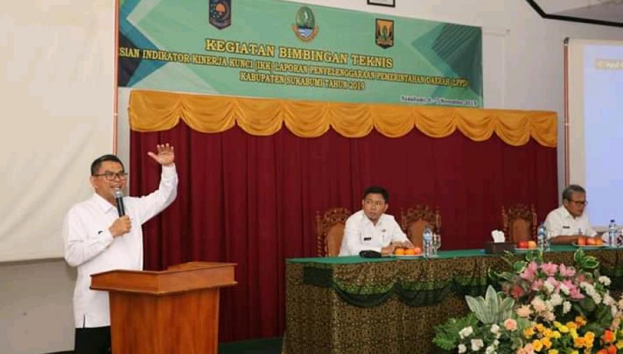 Bimtek Indikator Kinerja Kunci LPPD Kabupaten Sukabumi 2019