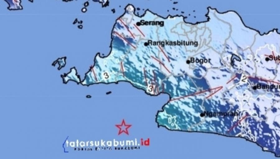 Gempa Sukabumi Siang Tadi Diduga Dipicu Aktifitas Sesar Cimandiri