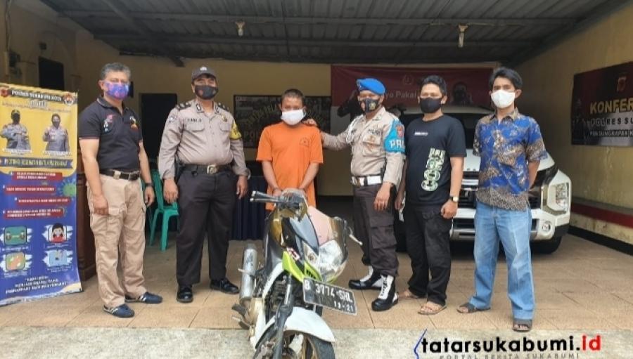 Dramatis Jual Motor COD di Facebook Berujung Ditangkap Polisi