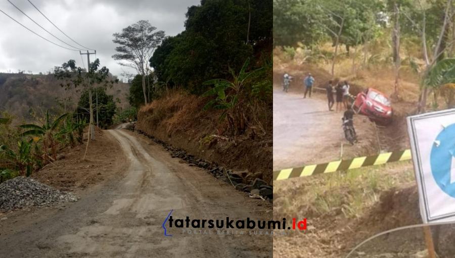 Sejumlah Akses Jalan Geopark Sedang Dalam Perbaikan, Lebih Waspada Terutama Musim Penghujan
