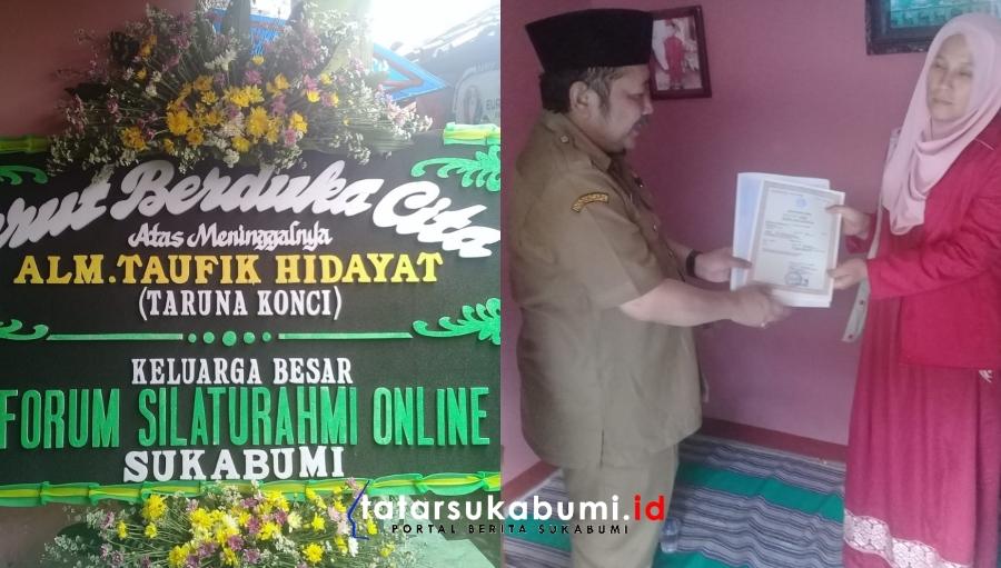 Bikin Sedih! Driver Ojek Online Sukabumi Tewas Diduga di Begal, Kepala Disdukcapil Serahkan Akta Kematian