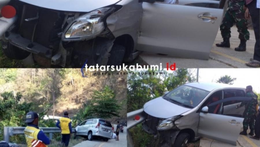 Kecelakaan Lalu Lintas di Ruas Jalan Palangpang Puncak Darma Geopark Ciletuh