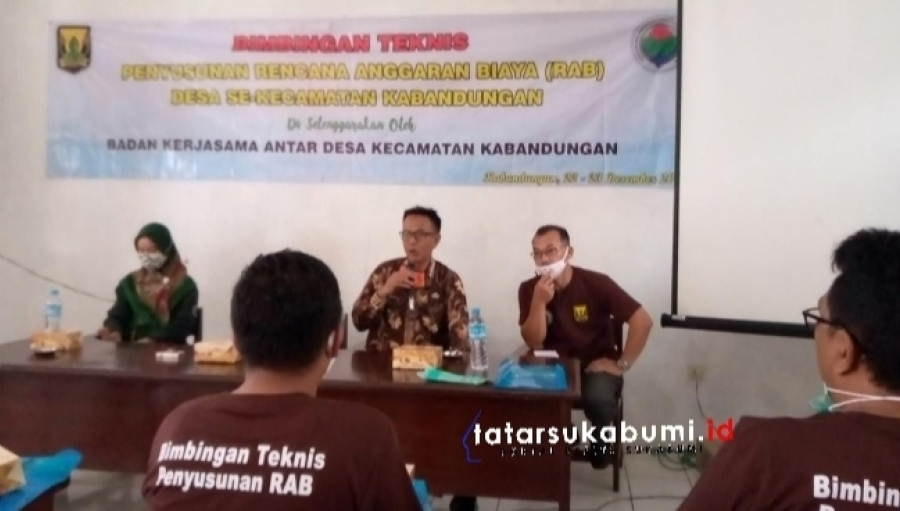Bimtek Penyusunan Rencana Anggaran Biaya Bagi Aparatur Desa di Kecamatan Kabandungan