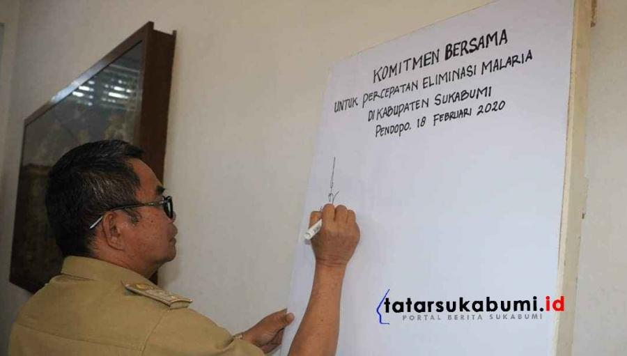Catatan WHO untuk Endemik Malaria di Sukabumi
