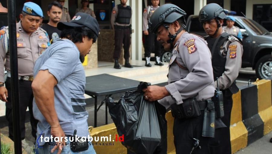 Bom Bunuh Diri Polrestabes Medan, Mapolresta Sukabumi Dijaga Ketat