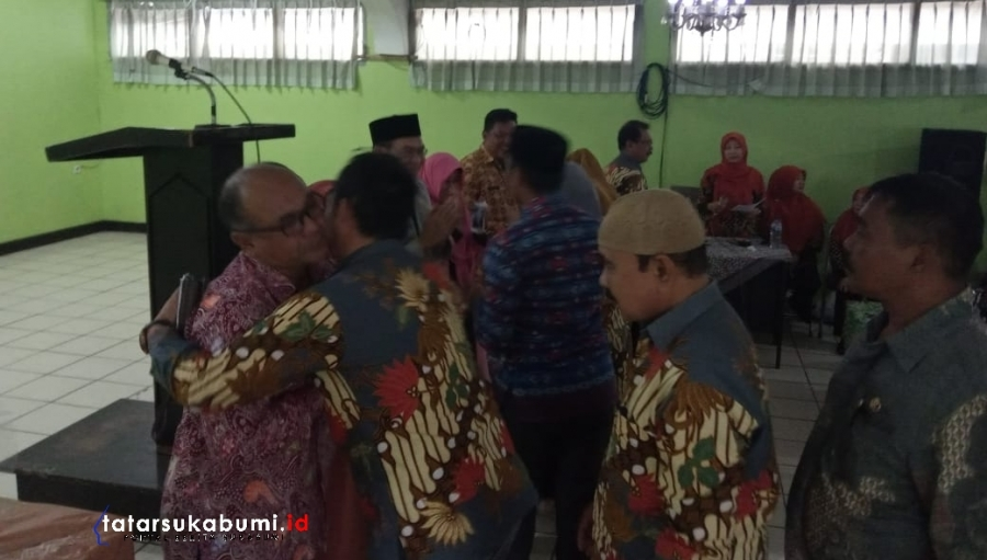 Pisah Sambut Rotasi Camat Cisaat - Sukaraja Kabupaten Sukabumi