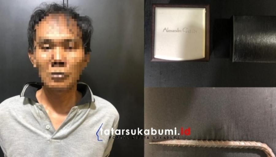 Aksi Pencurian di Sukaraja Kepergok Warga Satu Pelaku Asal Bandung Diamankan Polisi Satu Pelaku Buron