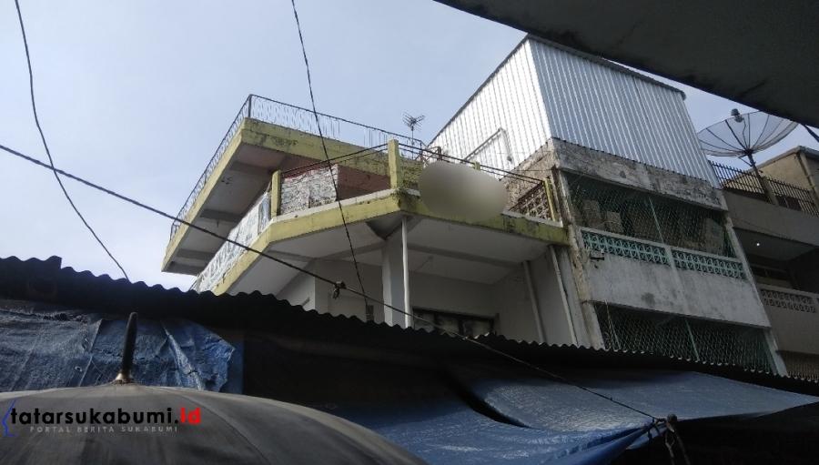 Pria Paruh Baya Ditemukan Tewas Tergantung di Pasar Pelita Sukabumi