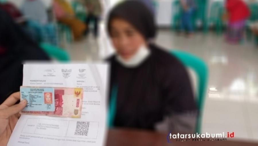 Bantuan Sosial Tunai Tahap 9 Kementrian Sosial di Kabandungan Sukabumi Cair