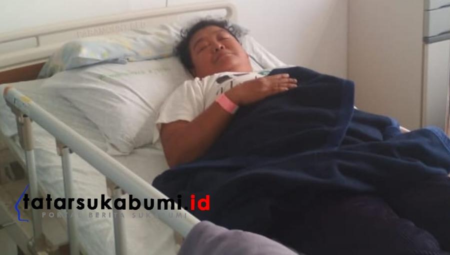 Pasca Ledakan dan Getaran Tambang Semen Metode Blasting Warga Leuwidinding Sukabumi Terkapar Dilarikan ke RS Bunut