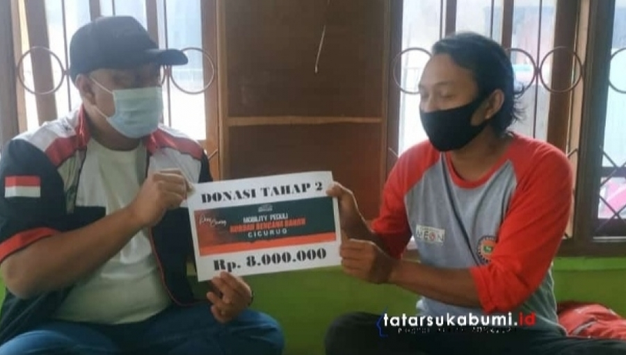 Bantuan Tahap II Mobilio Indonesia Community Terhadap Korban Banjir Bandang Cicurug