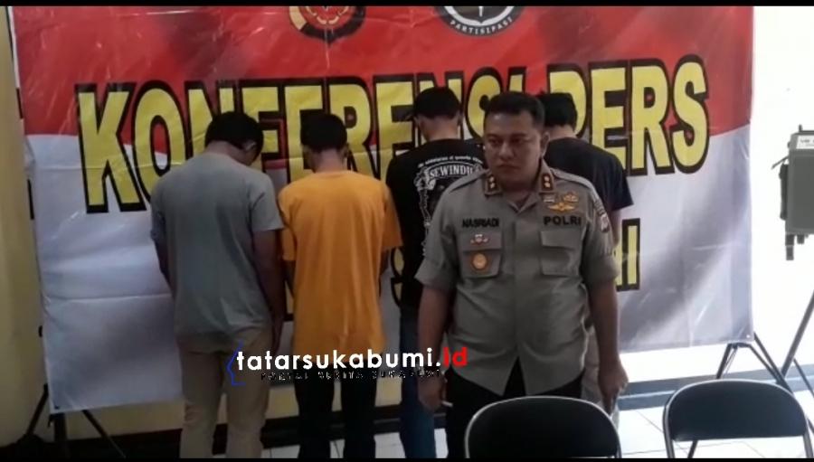 Janjian Perang Tengah Malam, Trend Baru Tawuran Antar Pelajar di Sukabumi