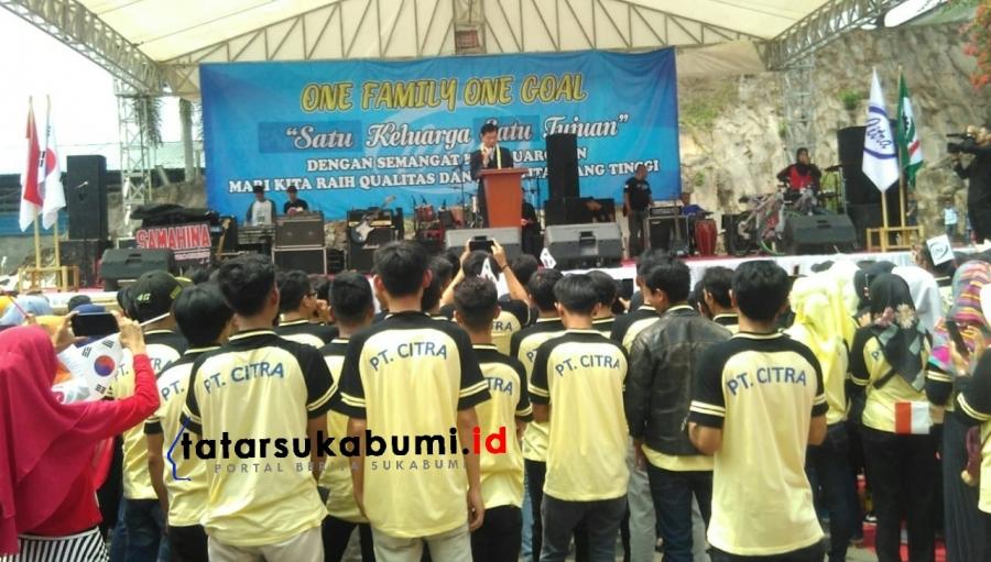 Sinergitas PT Citra Unggul Perkasa Sukabumi Bersama Karyawan