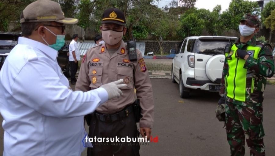 PSBB Sukabumi Tahap II Hingga 29 Mei, Marwan : Penyekatan Check Point Akan Diperkuat