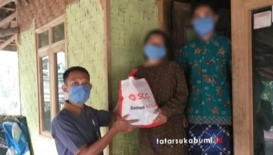 SCG People Galang Donasi Masyarakat Terdampak Covid-19 Sukabumi