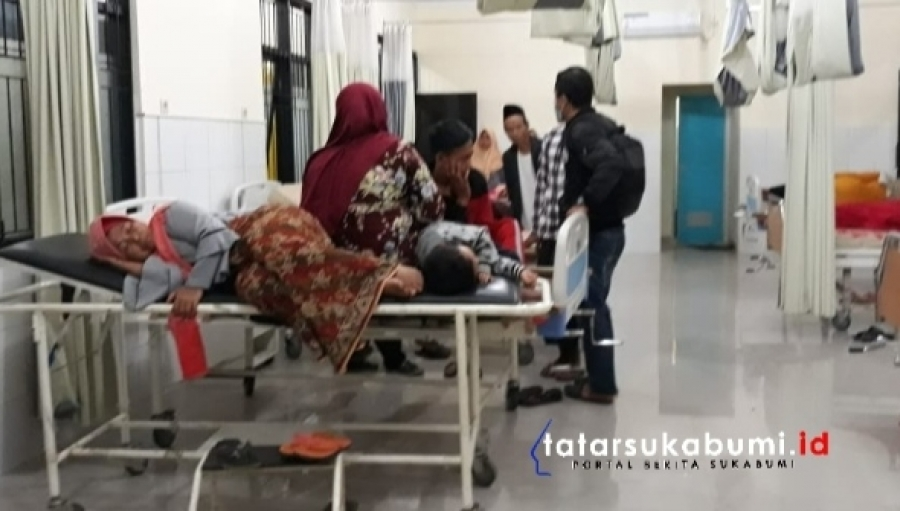 Keracunan Massal di Sukabumi 50 Warga Kecamatan Nagrak di Evakuasi