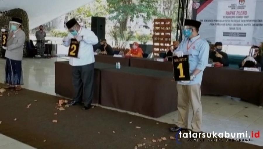 Inilah Nomor Keramat 3 Pasangan Calon Bupati dan Wakil Bupati Sukabumi di Pilkada 2020