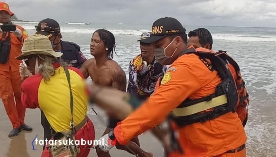 Wisatawan Jakarta Tenggelam di Pantai Sawarna Jenazah Berhasil Dievakuasi