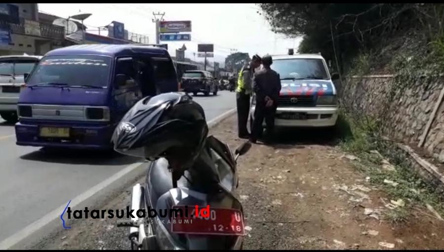 Operasi Zebra Lodaya Polres Sukabumi Motor Dinas Juga di Tilang