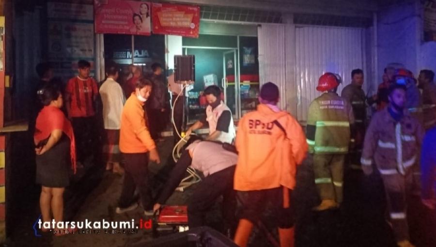 Teka-teki Terbakarnya Alfamart Ciaul Sukabumi Polisi Ungkap Fakta Mengejutkan