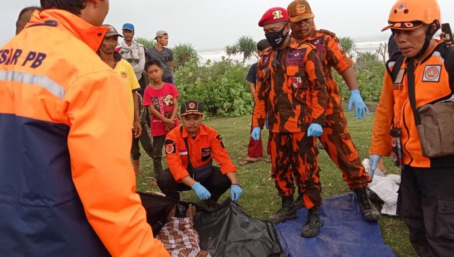 Karam Diterjang Gelombang Perairan Cibuni Jenazah Nakhoda Kapal Ditemukan di Agrabinta Cianjur