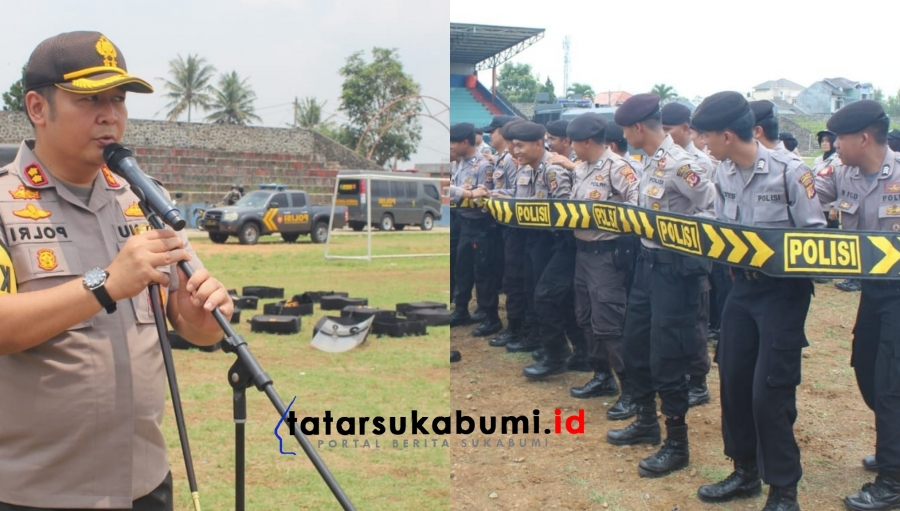 Jelang Pelantikan Presiden, Polresta Sukabumi Tingkatkan Patroli dan Operasi Cipta Kondisi