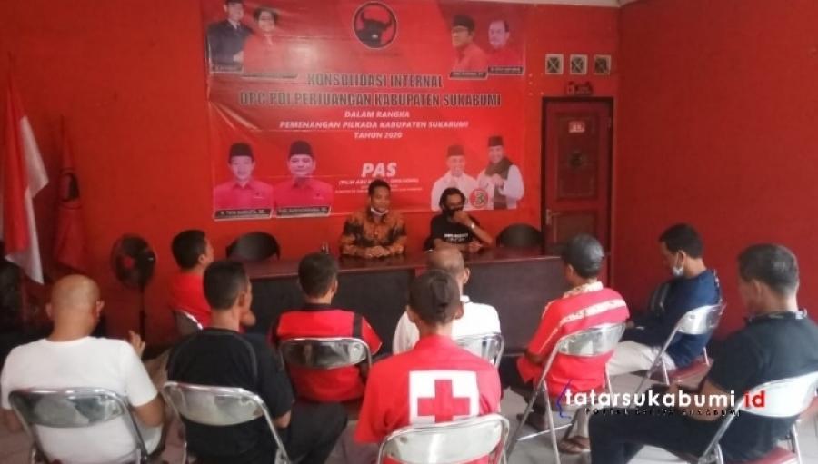 Ketua PDIP Kabupaten Sukabumi Lepas 10 Unit Ambulans