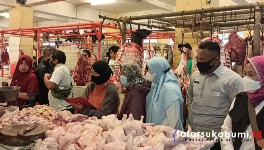 Permintaan Daging dan Telur di Sukabumi Turun 30 Persen Jelang Lebaran Idul Fitri 2021