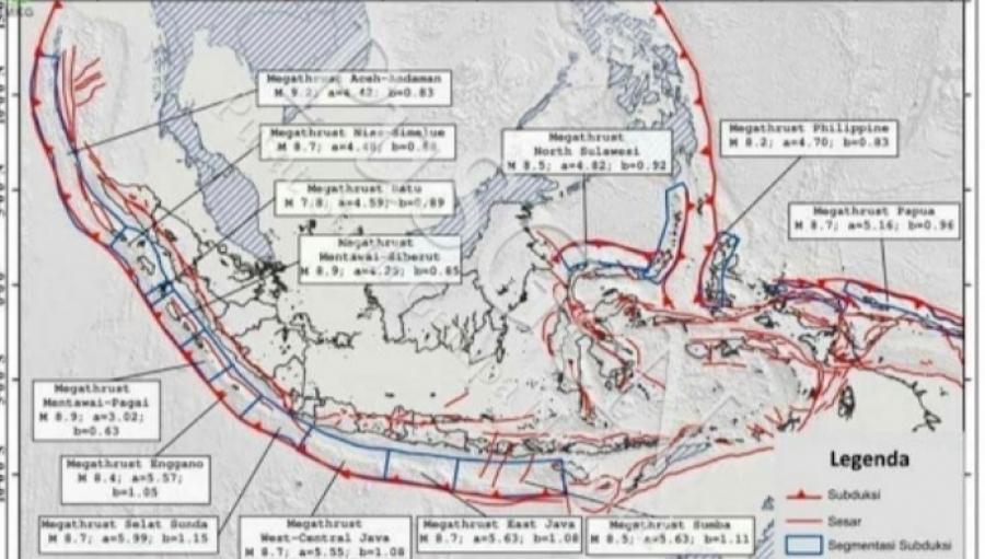 Jangan Gagal Paham Tentang Gempa Megathrust dan Potensi Tsunami di Pulau Jawa