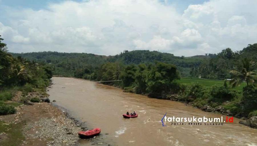 Hari ke-4 Pencarian Korban Tenggelam di Sungai Cimandiri Dihentikan