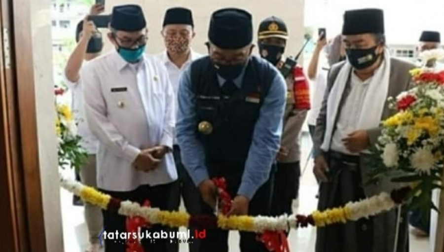 Masjid Almasthuriyah Sukabumi Dibangun Era Aher Diresmikan Emil