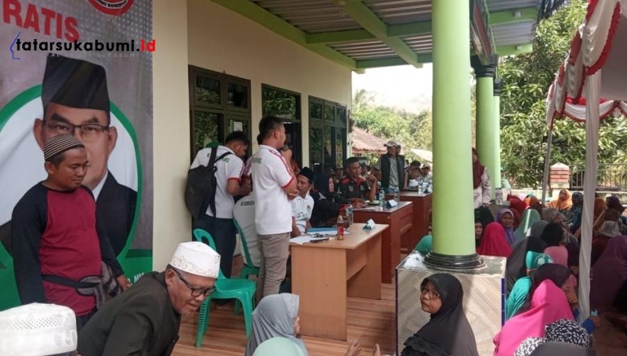Korek Mas Agendakan Pelayanan Kesehatan Gratis Setiap Bulan di Seluruh Desa se-Kabupaten Sukabumi