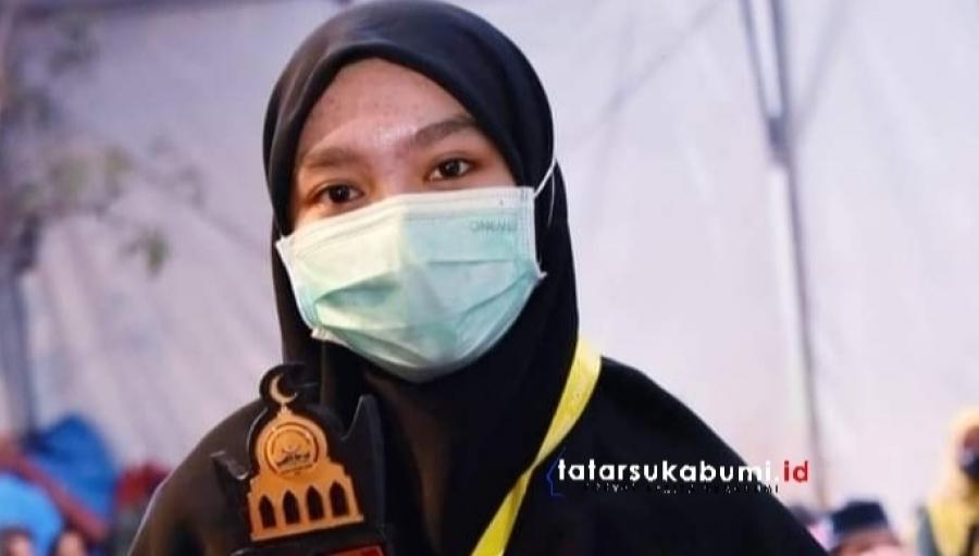 Wakili Jawa Barat Gadis Cantik Asal Jampang Sukabumi Juarai MTQ Tingkat Nasional