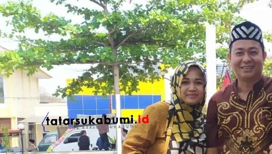 Jadi Sorotan, di Sukabumi Suami Istri Nyalon Kades Tanpa Ada Lawan