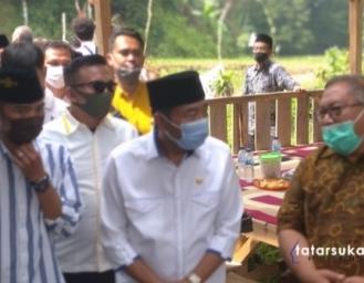 Haji Lulung Boyong Bantuan Sumur Air Dalam ke Sukabumi