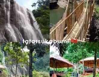 Bikin Penasaran! Air Terjun Janda Suci Curug Caweni Cidolog Sukabumi
