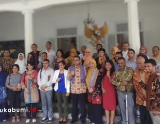 Kantor Perdana Menteri Republik Timor Leste Pelajari Audit Sosial ke Pemkab Sukabumi