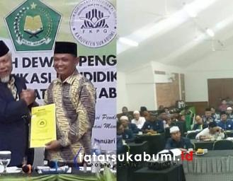 Ali Iskandar Kembali Pimpin Forum Komunikasi Pendidikan Al-Qur'an Kabupaten Sukabumi