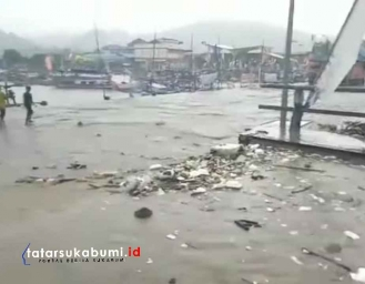 Ternyata Gegara Ini Dermaga Palabuhanratu Banjir