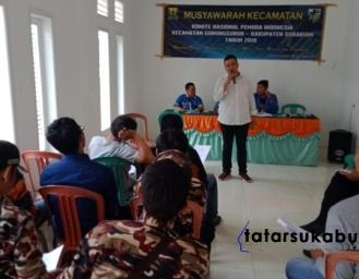 Sayyid Agil Pimpin KNPI Gunungguruh Sukabumi