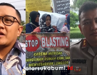 Masalah Blasting Tambang Semen di Sukabumi, Ketua DPRD dan Kapolres Angkat Bicara