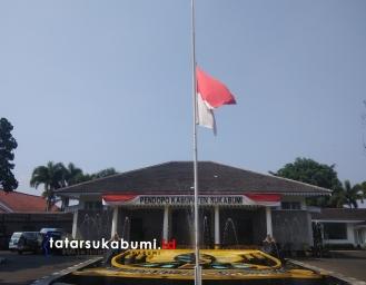 Marwan Hamami Intruksikan Bendera Setengah Tiang